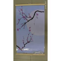 Гибкий инфракрасный обогреватель картина Сакура 400Вт