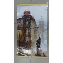 Гибкий инфракрасный обогреватель картина Старая Прага 400Вт
