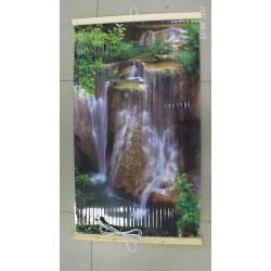 Гибкий инфракрасный обогреватель картина Водопад Джур Джур 400Вт